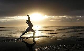warrior-pose-beach-sunset-Patranila-Project