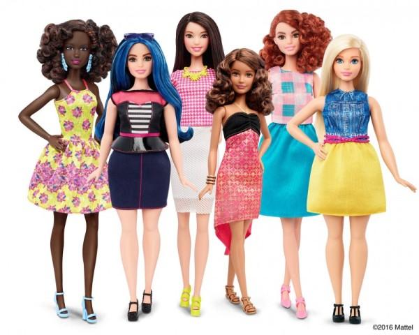 mattel-barbie-curvy-petite-tall group