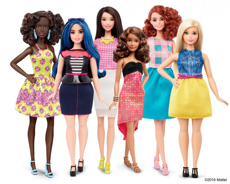 Mattel introduces new Barbie dolls. The iconic Original Barbie will be joined by Barbie Curvy, Tall and Petite.